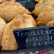 Traditional pasty - £1.00