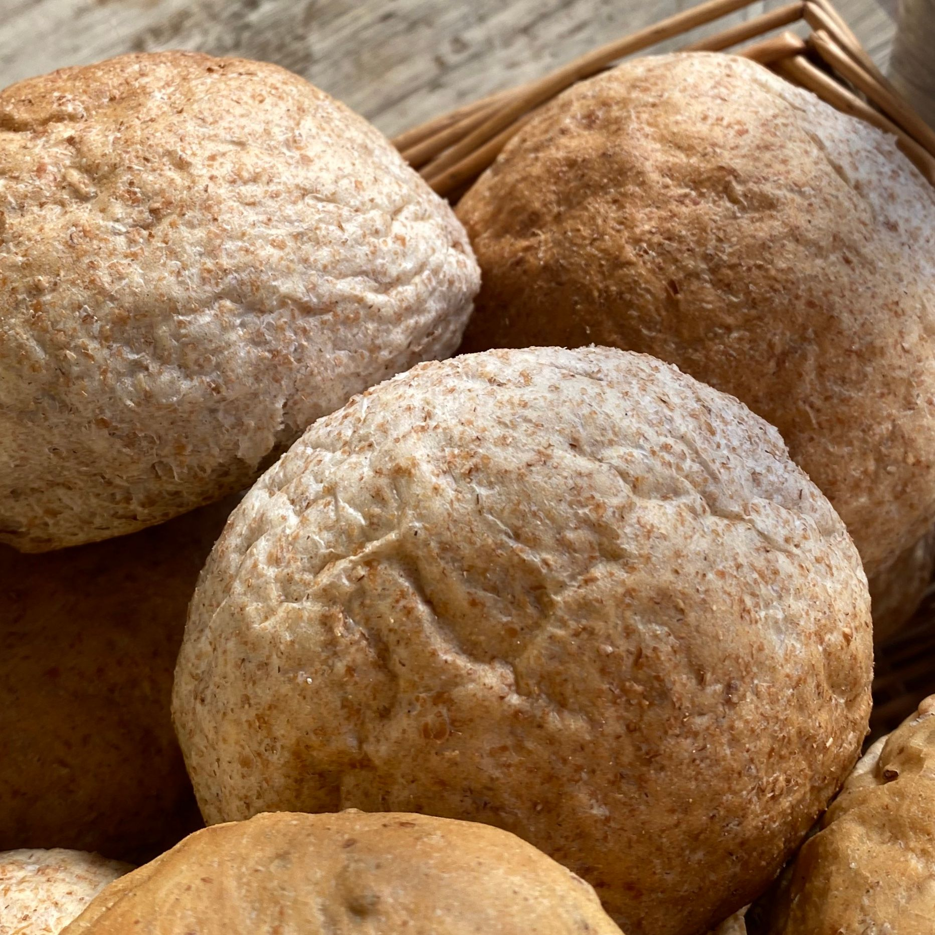 Wholemeal roll - £0.35