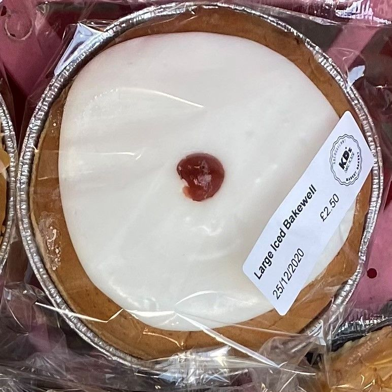 Large Iced Bakewell - £2.50