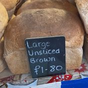 Large wholemeal unsliced - £1.80