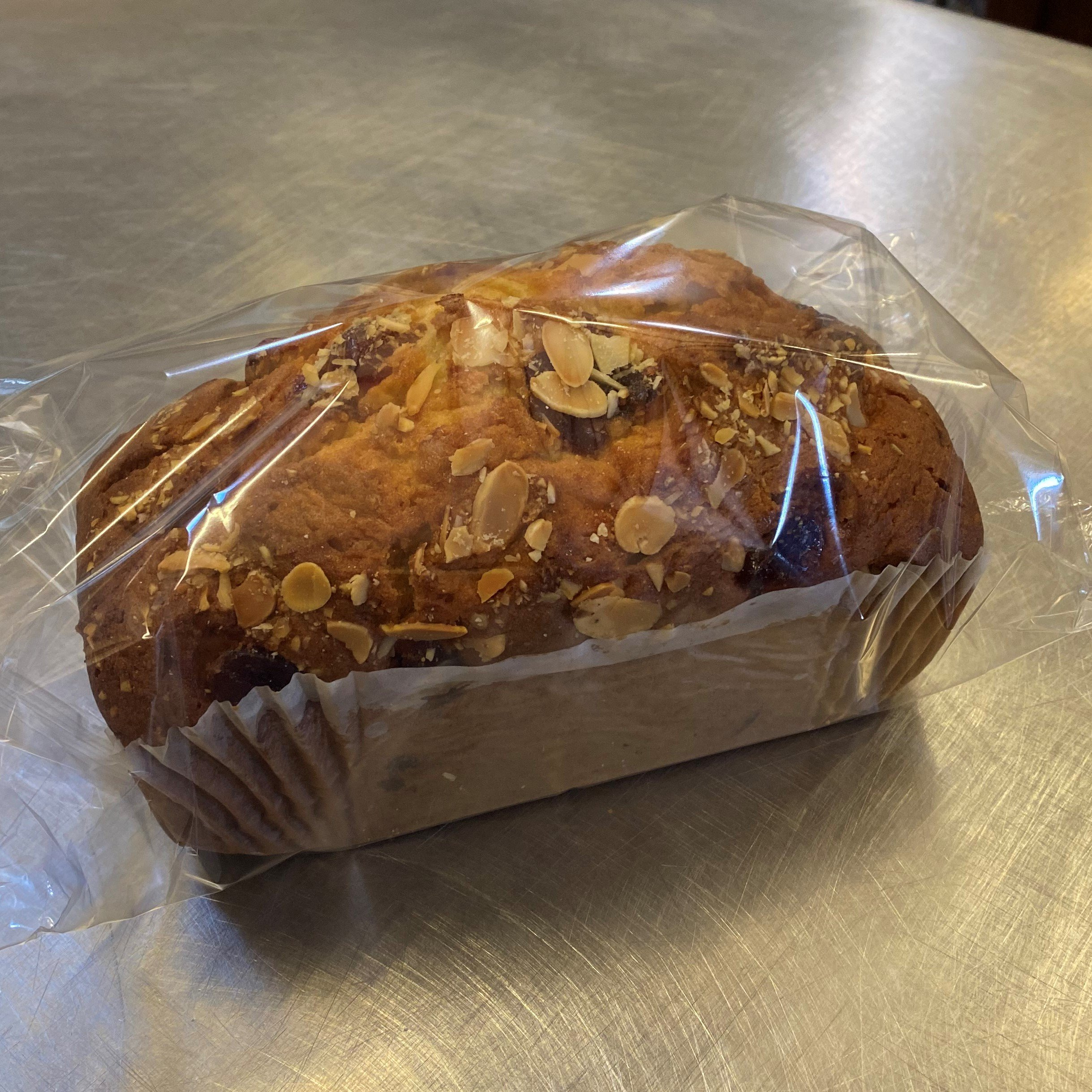 Cherry and almond loaf - £3.30