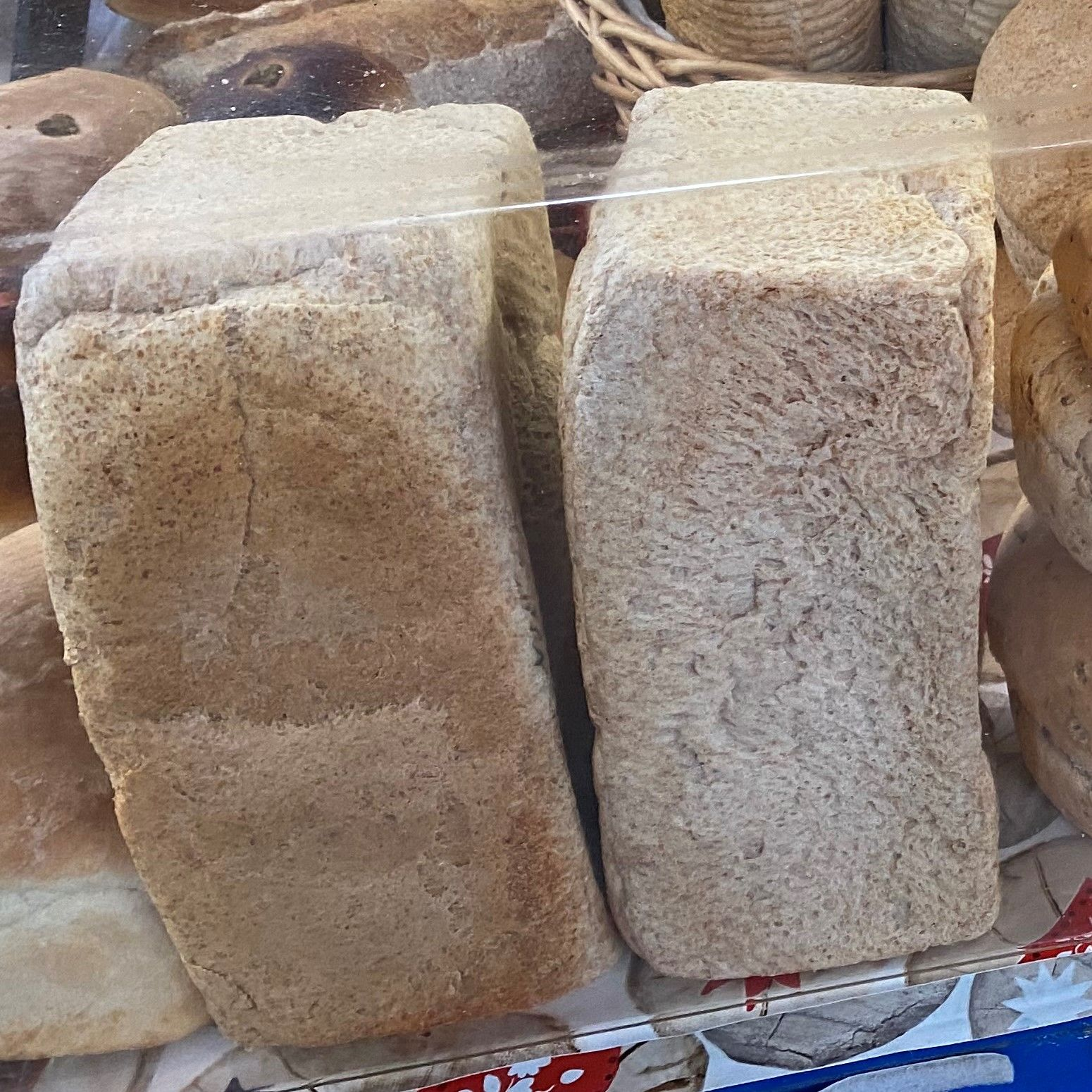 Large wholemeal sandwich unsliced - £1.80